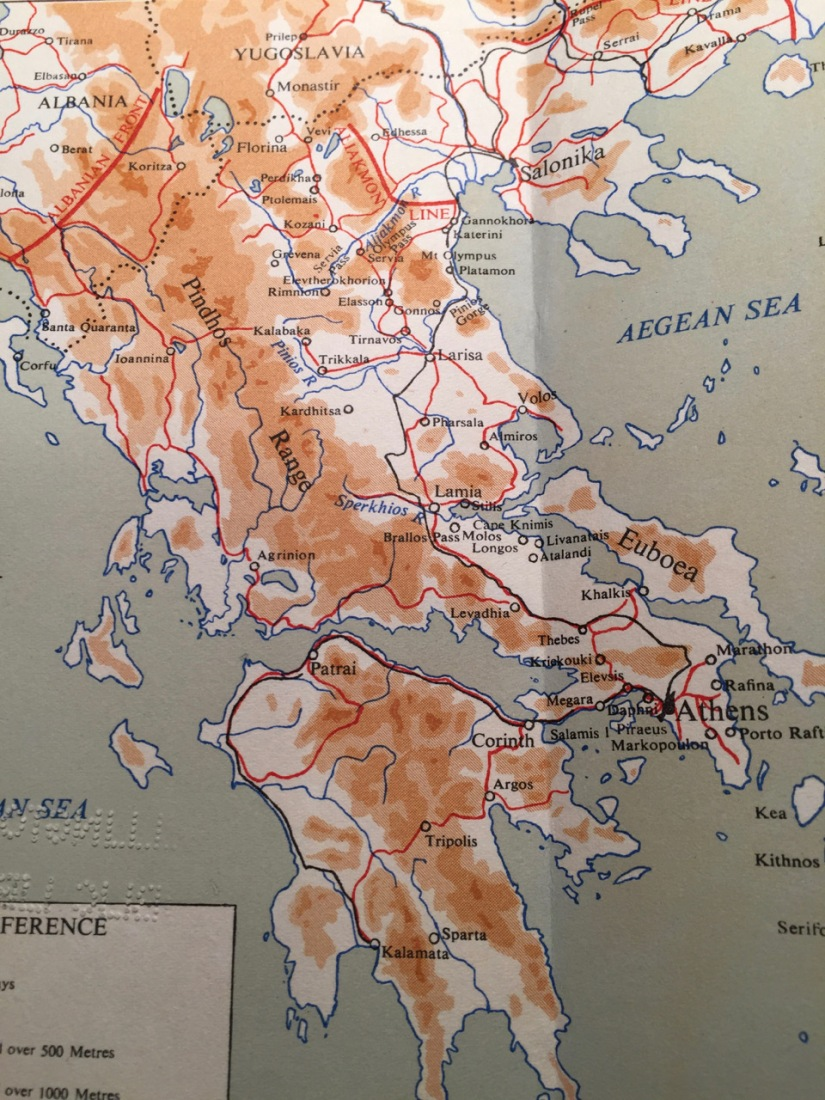 Defence lines 1941